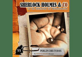 Sherlock Holmes & Co - Perlen des Todes - Folge 55  - (CD)