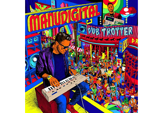 Manudigital - DUB TROTTER  - (CD)
