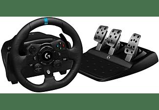 Volante - Logitech G923, Para Xbox X, Xbox One, PC, Pedales, Escala 1:1, USB, LED, Trueforce, Negro