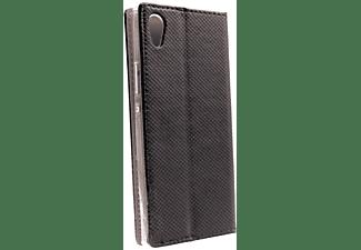 AGM 26953 Bookcover Magnet für Sony Xperia XA1, Bookcover, Sony, Xperia XA1, Schwarz