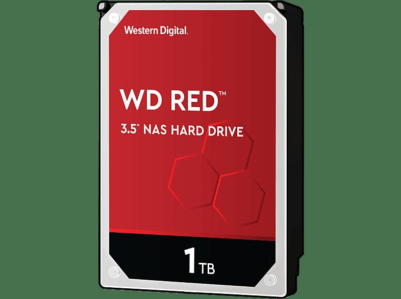 WD Red NAS-Festplatte, BULK, 1 TB, HDD, 3,5 Zoll, intern