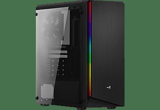 AEROCOOL Rift PC-Gehäuse, Schwarz