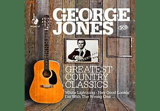 George Jones - Greatest Country Classics  - (CD)