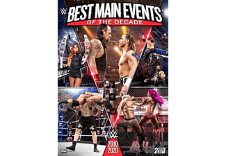 WWE: Best Main Events of the Decade: 2010-2020 DVD