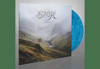 Saor - AURA (GTF/BLUE WHITE & BLACK MIXED VINYL)  - (Vinyl)