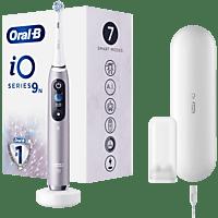 Cepillo Eléctrico - Oral-B, iO 9n Recargable Con Tecnología De Braun, 1 Mango Rosa Con Diseño De Alta Gama