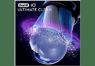 Recambio para cepillo dental - Oral-B iO Ultimate Clean Black, Cabezales De Recambio, Pack De 4 Unidades