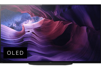SONY KD-48A9 OLED TV (Flat, 48 Zoll / 121 cm, UHD 4K, SMART TV, Android TV)