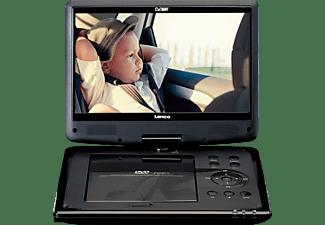 LENCO DVP-1064BK Tragbarer DVD-Spieler, Schwarz