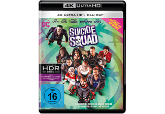 Suicide Squad (Kinofassung & Extended Cut) 4K Ultra HD Blu-ray + Blu-ray