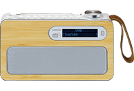 LENCO PDR-040WH Digitalradio, DAB+, FM, Bluetooth, Weiß