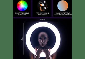 ROLLEI Lumen Ring RGB - LED-Ringlicht (28508)