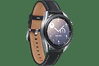 SAMSUNG Galaxy Watch3 Edelstahl 45mm BT, Mystic Silver