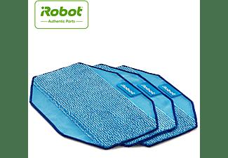 Accesorio aspirador - iRobot Pack de 3 paños reutilizables Pro-Clean, para Braava 390t, Azul