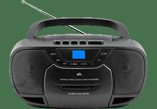 OK. ORC 540-B Tragbares Radio, Schwarz