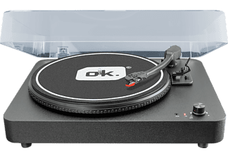 OK. OTT-100 Plattenspieler Schwarz