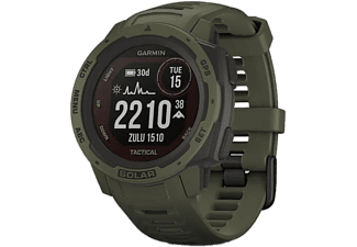 GARMIN Montre GPS Instinct Solar Tactical ED Vert (010-02293-04)