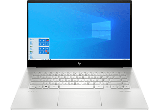HP ENVY 15-ep0374ng, Notebook mit 15,6 Zoll Display, Intel® Core™ i7 Prozessor, 16 GB RAM, 512 GB SSD, GeForce GTX 1660 Ti Max-Q, Silber