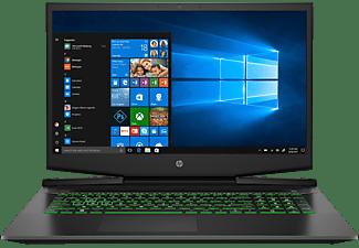 HP Pavilion Gaming 17-cd1680ng, Gaming Notebook mit 17,3 Zoll Display, Intel® Core™ i7 Prozessor, 8 GB RAM, 1 TB HDD, 512 GB SSD, GeForce® GTX 1050 Ti, Schwarz