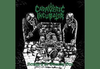 Cadaveric Incubator - SERMONS OF THE DEVOURING DEAD (GREEN VINYL)  - (Vinyl)