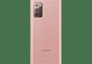 SAMSUNG EF-ZN980, Bookcover, Samsung, Galaxy Note20, Bronze