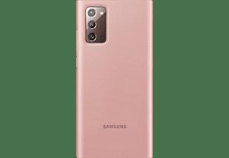 SAMSUNG EF-NN980, Bookcover, Samsung, Galaxy Note20, Braun