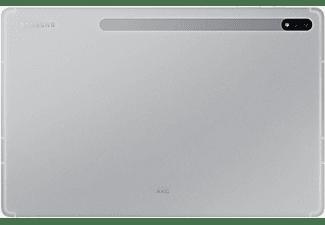 SAMSUNG Galaxy Tab S7+ WiFi, Tablet, 256 GB, 12,4 Zoll, Mystic Silver