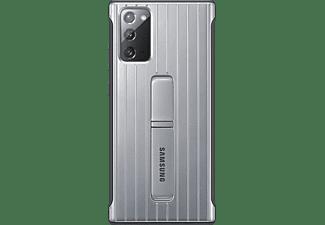 SAMSUNG EF-RN980, Backcover, Samsung, Galaxy Note20, Silber/Schwarz