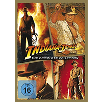 Indiana Jones – The Complete Collection (5 Discs) [DVD]