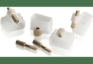 OEHLBACH Pure Lock! Kunststoffkappen, Transparent