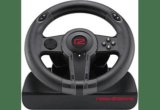 READY 2 GAMING Nintendo Switch Racing Wheel, Lenkrad mit Pedalen, Schwarz