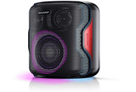Altavoz inalámbrico - Sharp PS-919, 130 W, Bluetooth, 14h Autonomía, Negro