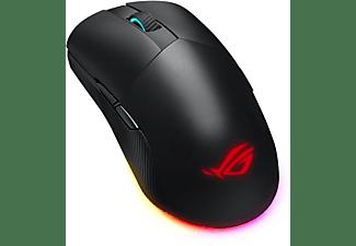 ASUS ROG Pugio II Gaming Maus, einfarbig, schwarz, Logo