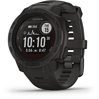 GARMIN Smartwatch Instinct Solar, Schiefergrau (010-02293-00)
