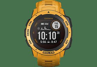 GARMIN Instinct Solar Smartwatch Faserverstärktes Polymer Silikon, 132 - 224 mm (45 x 45 x 15.3 mm), Gelb