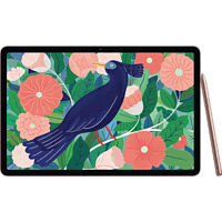 SAMSUNG Galaxy Tab S7 WiFi, Tablet, 128 GB, 11 Zoll, Mystic Bronze