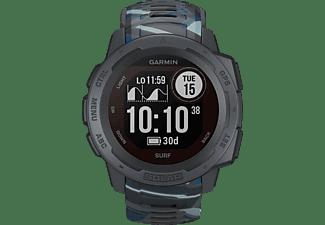 GARMIN Instinct Solar Smartwatch Faserverstärktes Polymer Silikon, 132 - 224 mm (45 x 45 x 15.3 mm), Pipeline