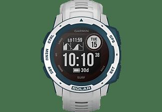 GARMIN Instinct Solar Smartwatch Faserverstärktes Polymer Silikon, 132 - 224 mm (45 x 45 x 15.3 mm), Cloudbreak