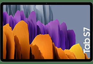 "Tablet - Samsung Galaxy Tab S7, 128 GB, Plata, WiFi, 11"" WQXGA, 6 GB RAM, Snapdragon 865 Plus, Android 10"