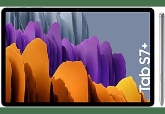 "Tablet - Samsung Galaxy Tab S7+, 128 GB, Plata, WiFi, 12.4"", 6 GB RAM, Snapdragon 865 Plus, Android 10"