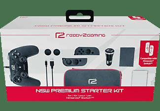 READY 2 GAMING Nintendo Switch Premium Starter Kit, Zubehörset, Schwarz