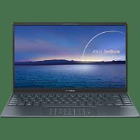 ASUS ZenBook 14 UX425EA-HM093T, Notebook mit 14 Zoll Display, Core™ i7 Prozessor, 16 GB RAM, 512 GB SSD, onbd UHD, Pine Grey