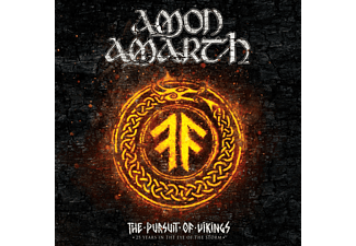 Amon Amarth - The Pursuit Of Vikings: 25 Years In The Eye Of The Storm (CD + Blu-ray)