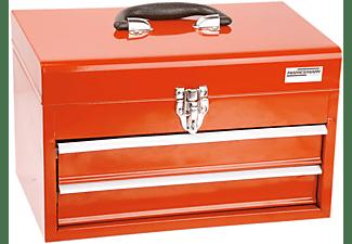 MANNESMANN 29066 Werkzeugbox 155-teilig Handwerkzeug, Rot/Schwarz