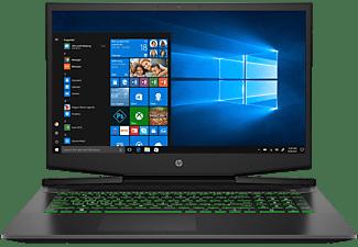 HP Pavilion 17-cd1375ng, Notebook mit 17,3 Zoll Display, Core™ i7 Prozessor, 16 GB RAM, 512 GB SSD, GeForce RTX 2060 Max-Q, Schwarz