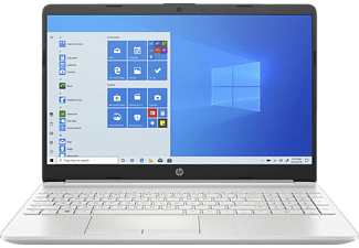HP 15-dw2373ng, Notebook mit 15,6 Zoll Display, Core™ i7 Prozessor, 8 GB RAM, 256 GB SSD, 1 TB HDD, Intel® Iris™ Plus Grafik, Silber