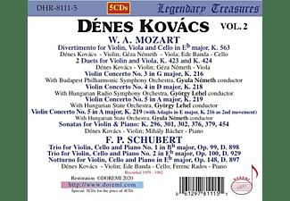 Kovács,Dénes/Banda,Ede/Rados,Ferenc/+ - Legendary Treasures: Dénes Kovács Vol.2  - (CD)