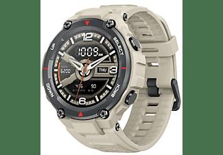 """Smartwatch - Amazfit T-Rex KHAKI, Pantalla AMOLED 1.3"""", Táctil, GPS, Autonomía 20 días, Caqui"""