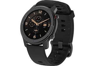 "Smartwatch - AmazFit GTR-42MM, 42 mm, Táctil 1.2"" AMOLED, 24 días autonomía, GPS, Bluetooth, Negro"