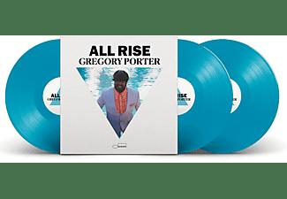 Gregory Porter - ALL RISE (LTD. EDT. BLUE VINYL) (Limited Edition)  - (Vinyl)